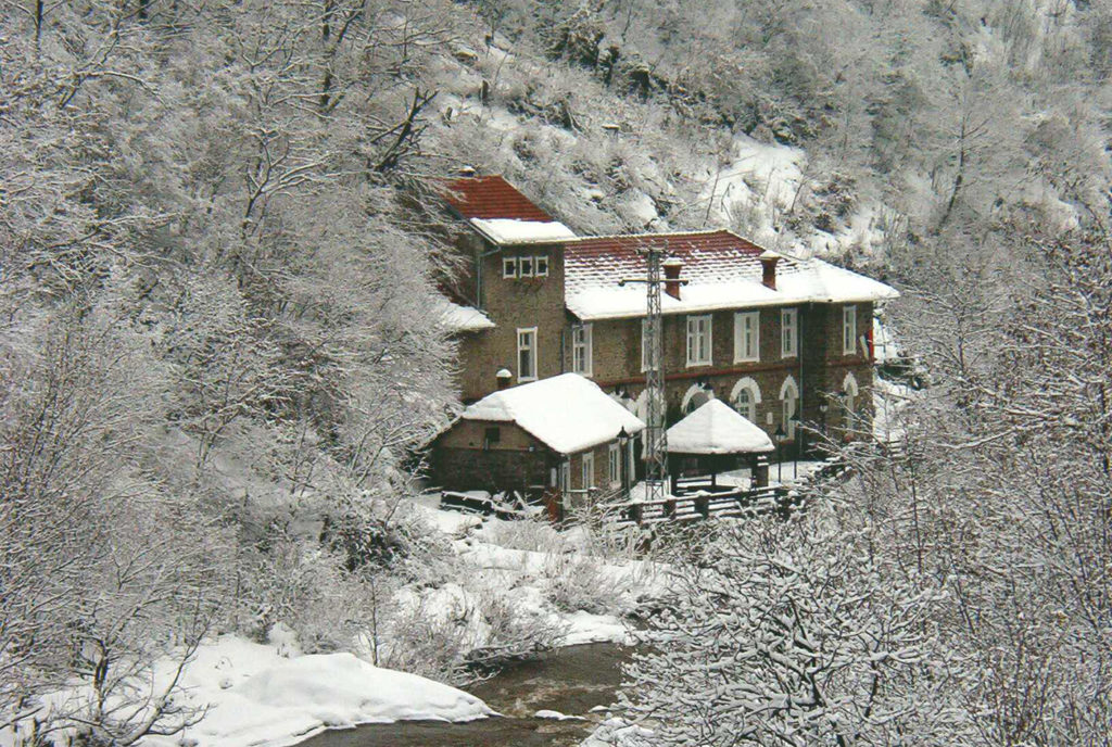 ХЕ Вучје - зима
