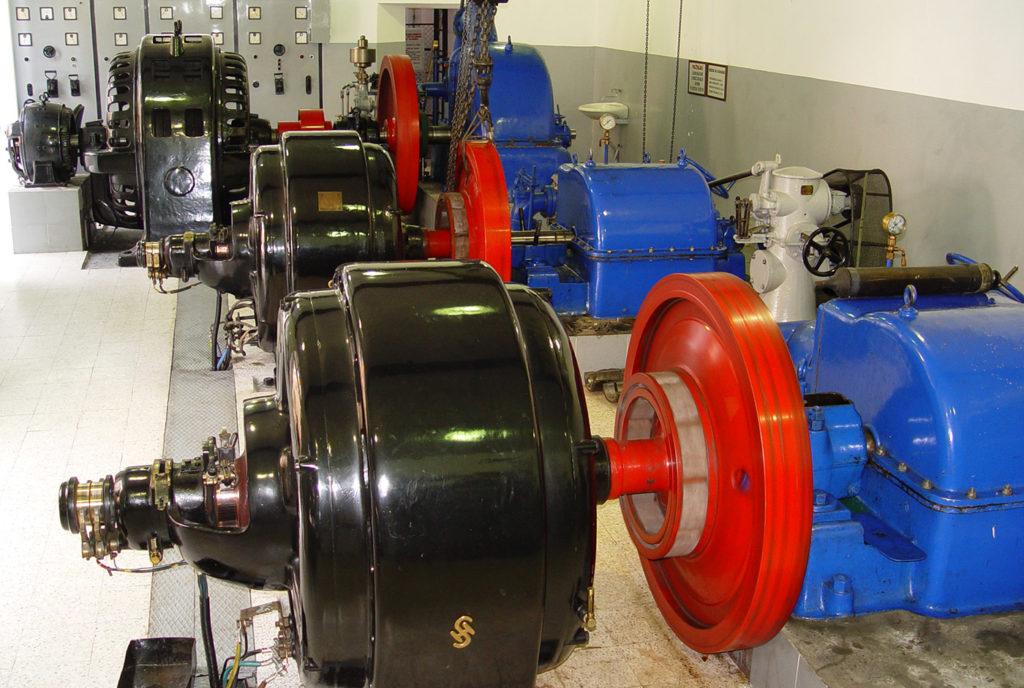 Хидроцентрала Вучје - агрегати Сименс