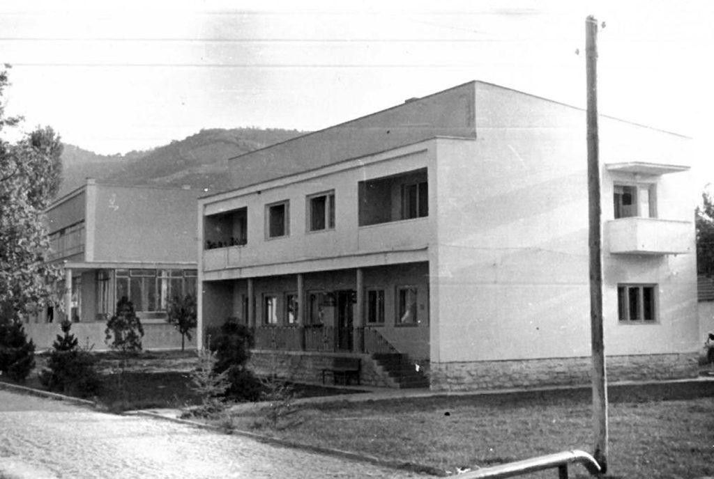 Општинска зграда и Дом здравља Вучје
